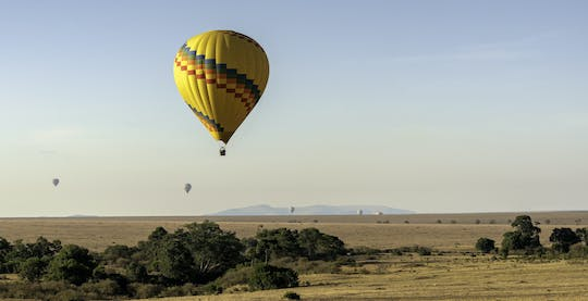 Maasai Mara hot air balloon safari