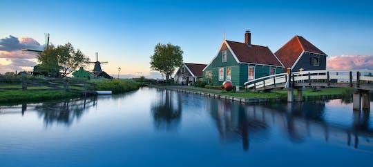Transport privé vers les moulins à vent de Zaanse Schans, Volendam, l'usine de fromage et de sabots d'Amsterdam