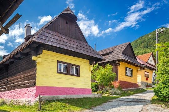 Tour privato di un giorno a Vlkolinec e gli Alti Tatra da Bratislava