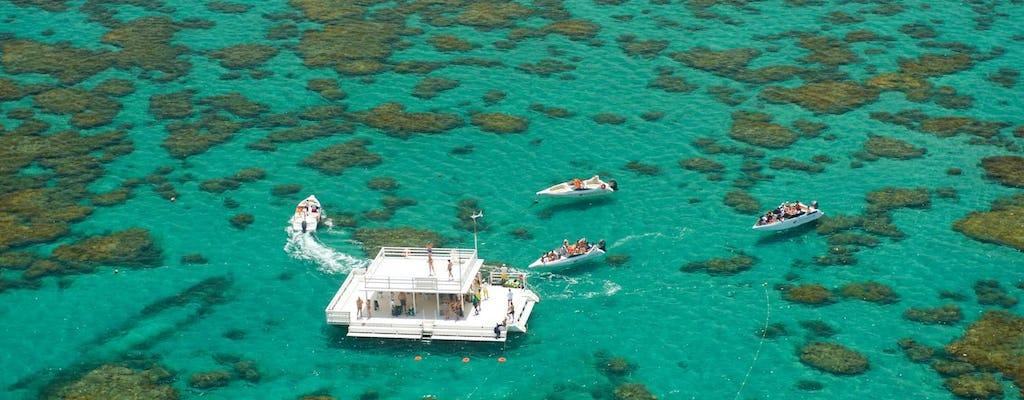 Excursão guiada ao recife Maracajaú Parrachos