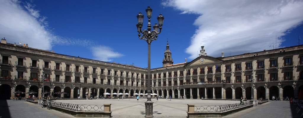 Small-group tour to Vitoria and Añana Salt Valley from Bilbao