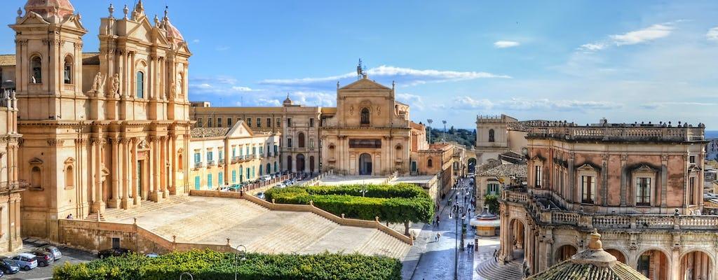 Visite à pied du centre historique de Noto