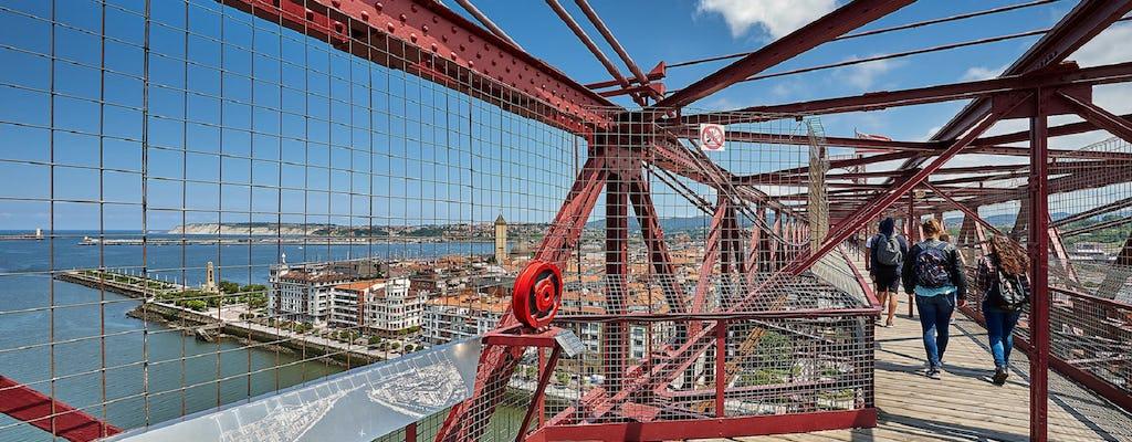 Getxo e Bizkaia Bridge tour per piccoli gruppi