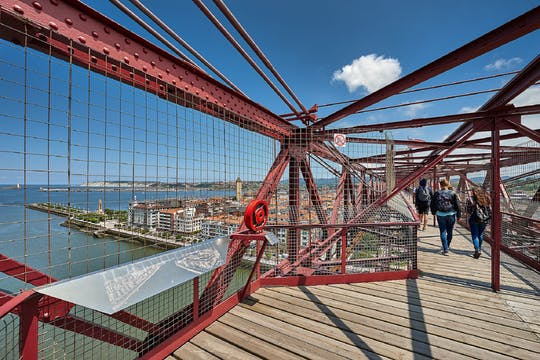 Getxo and Bizkaia bridge small-group tour