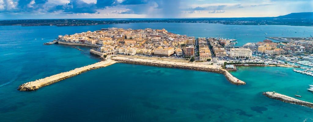 Boottocht op het eiland Ortigia
