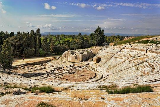 Visite archéologique du parc de Syracuse Neapolis