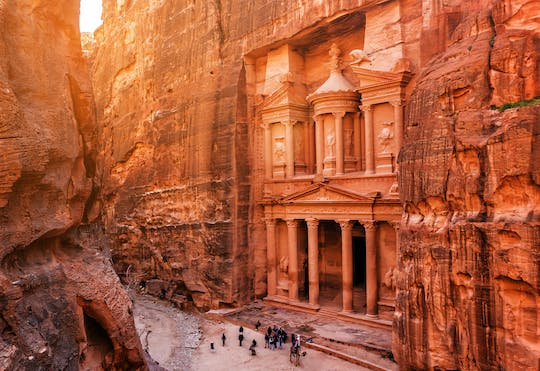 Private Petra full-day tour with Amman sightseeing from Amman