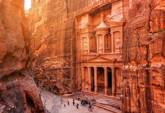 Excursão privada de dia inteiro em Petra com passeios turísticos em Amã saindo de Amã