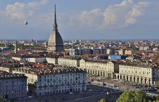Turin guided walking tour