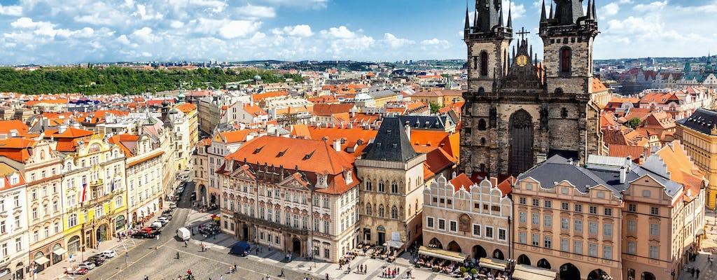 Tour privado de Praga en coche