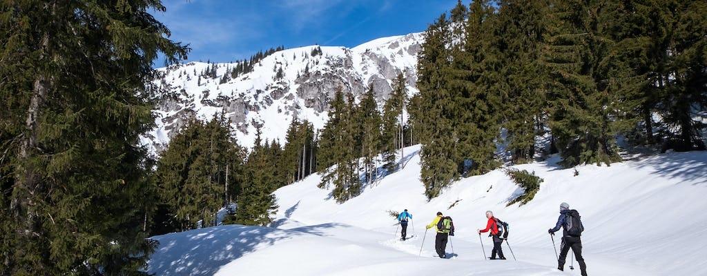 Private Schneeschuhtour in der Janosik-Schlucht