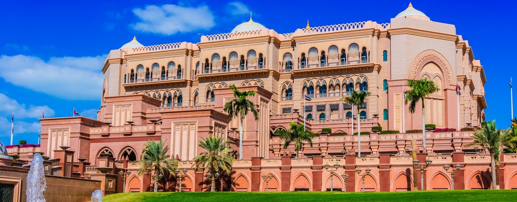 Emirates Palace Dine-in-ervaring in Abu Dhabi