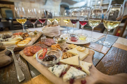 Wine, Cheese and Charcuterie tasting in Budapest