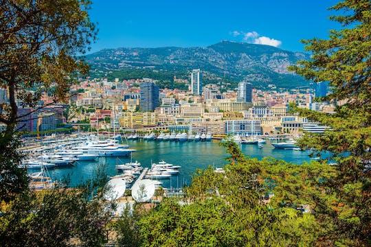 Halbtägige Gruppenreise von Eze, Monaco und Monte Carlo ab Nizza