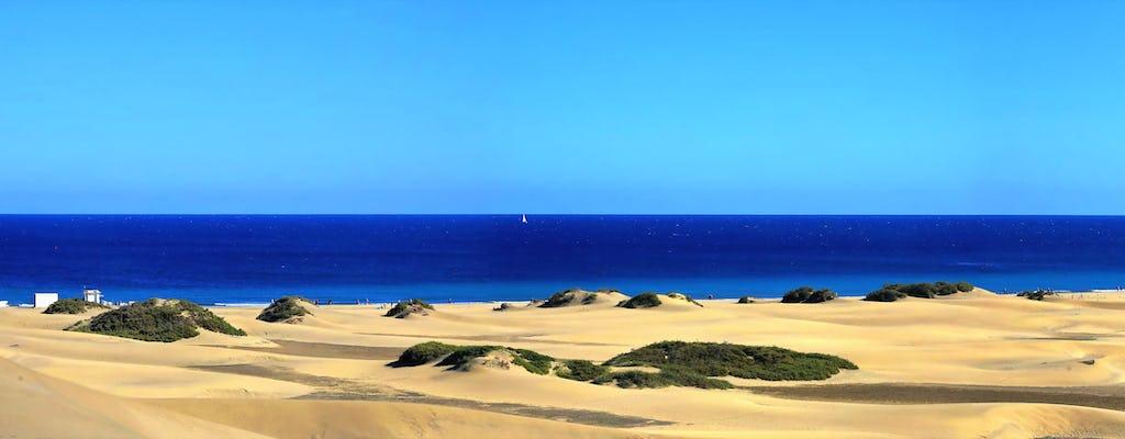 Wycieczka segwayem po wydmach Maspalomas i Playa del Ingles