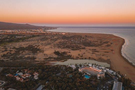 E-самокат экскурсия Маспаломас и Мелонерас на закате