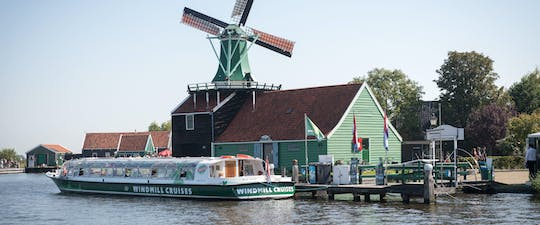 25-minute Zaanse Schans windmill cruise with optional mill visit