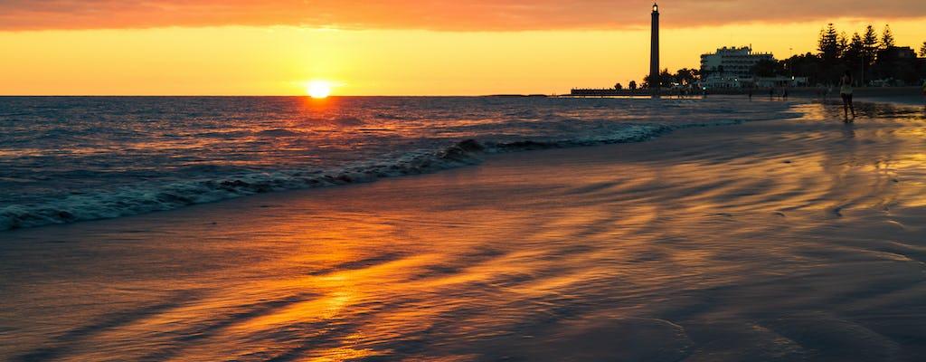 Sunset Segway Tour po Malpalomas i Playa del Ingles
