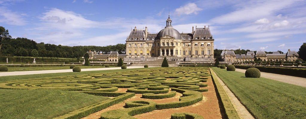 Viagem privada de dia inteiro ao Château de Vaux-le-Vicomte