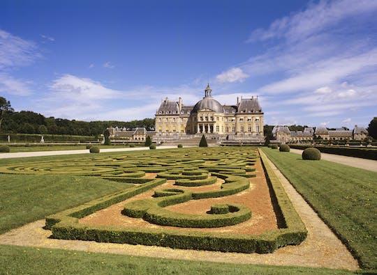 Excursión privada de un día al castillo de Vaux-le-Vicomte