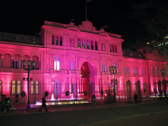 Tour notturno di Buenos Aires in piccoli gruppi