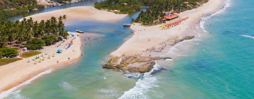 Visita guiada à praia Duas Barras e dunas de Marapé