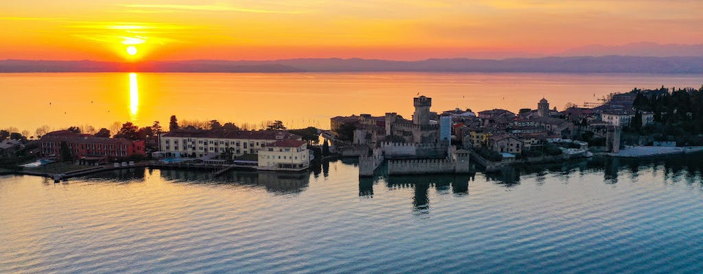 Half-day lake Garda castles boat tour