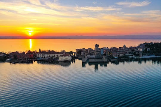 Half-day lake Garda castles boat tour and wine tasting with nibbles in Bardolino