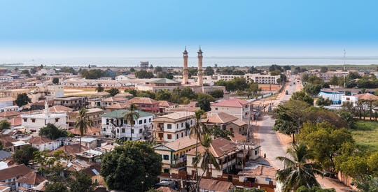 Banjul halbtägige Stadtrundfahrt