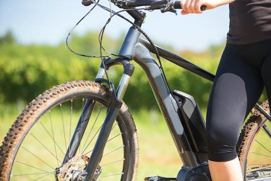 Visite en vélo électrique des collines de Bologne