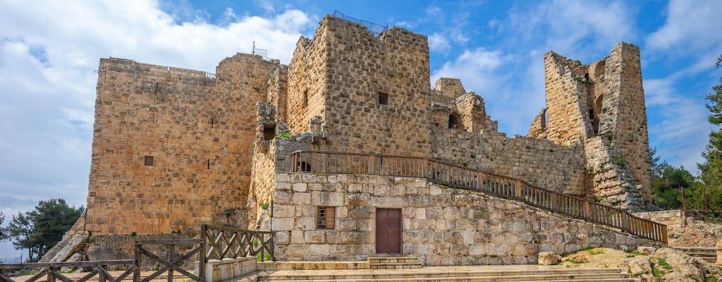 Visite privée d'une journée complète des châteaux du désert oriental islamique avec le château d'Ajloun au départ d'Amman