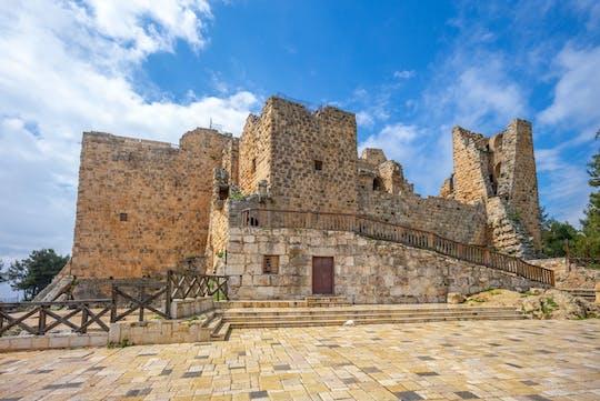 Castillos islámicos del desierto oriental de día completo con visita privada al castillo de Ajloun desde Amman