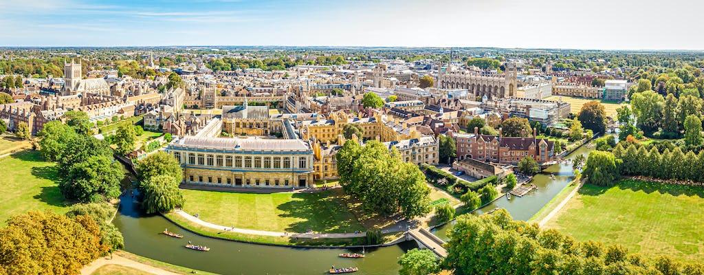 Кембриджского университета и пешеходная экскурсия по городу