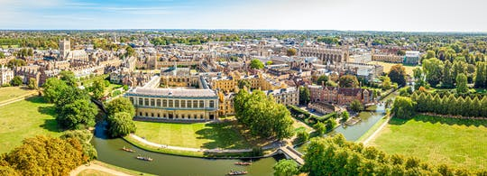 Cambridge University en stadswandeling