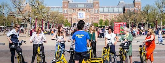 Amsterdamska dwu- lub trzygodzinna wycieczka rowerowa