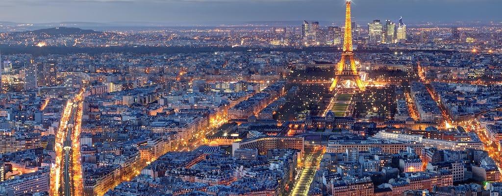 Billet d'entrée coupe-file pour le sommet de la tour Eiffel et croisière illuminations en soirée à Paris
