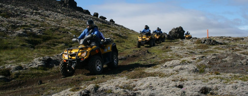 Giro in ATV e tour del Golden Circle