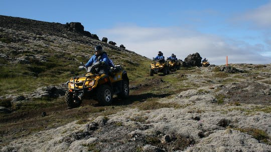 ATV ride and Golden Circle tour