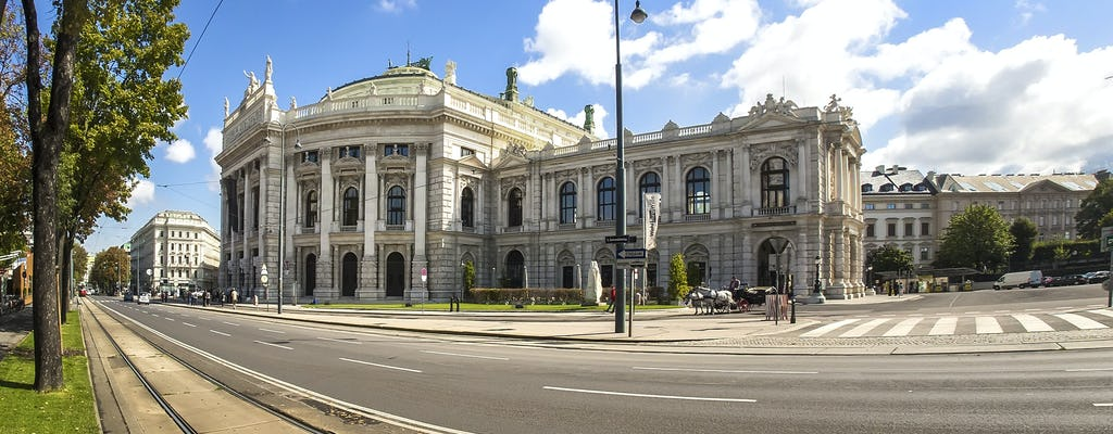 Zwiedzanie hulajnogi elektrycznej po Vienna Ring