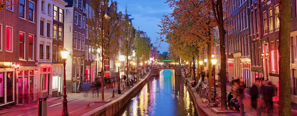 Wycieczka piesza po Amsterdamie