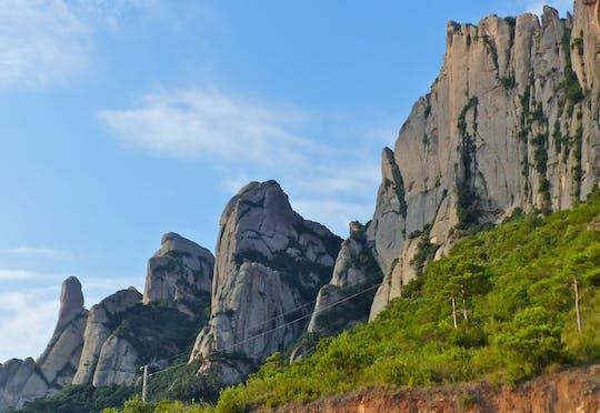 Wędrówka po Montserrat z Barcelony