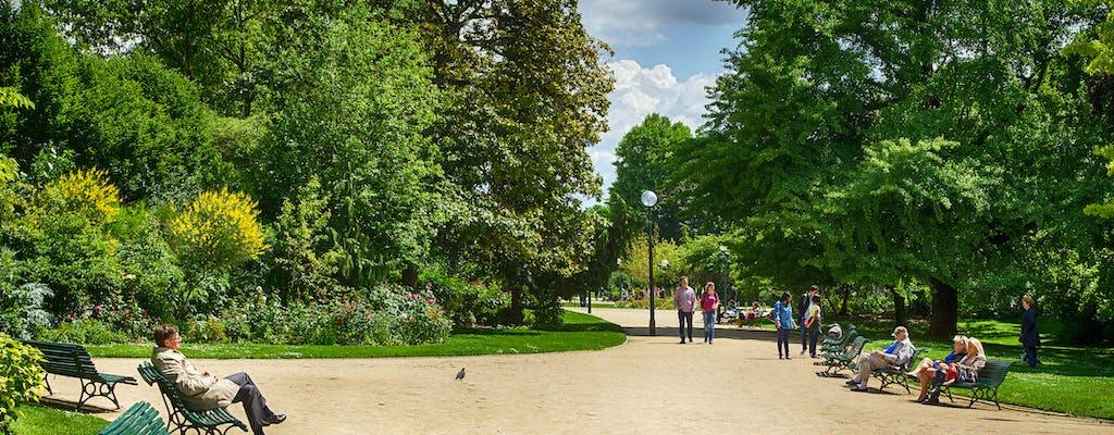 Excursão a pé pelos Jardins Champs-Elysées
