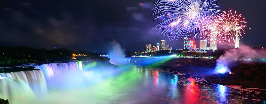 Niagara Falls New York day & night tour plus dinner