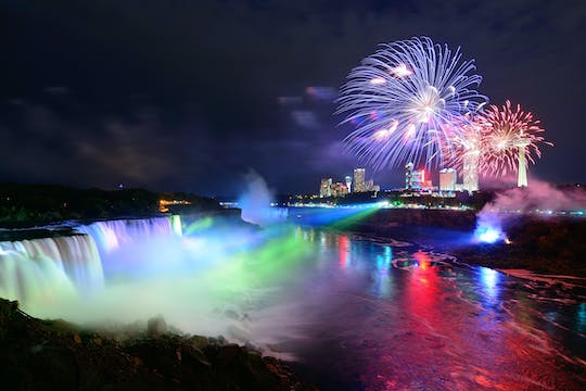 Niagara Falls USA day and night combo tour