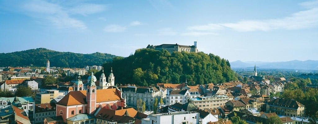 Excursão à capital Liubliana saindo de Portoroz
