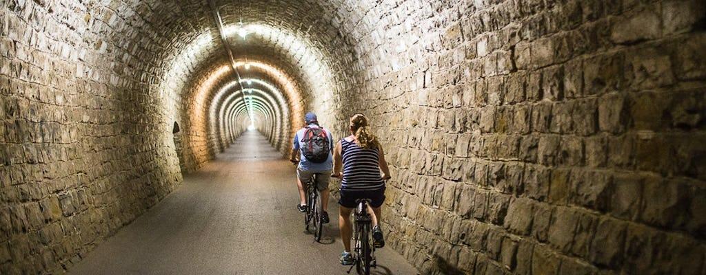 Tour panoramique à vélo sur le sentier Parenzana au départ de Koper