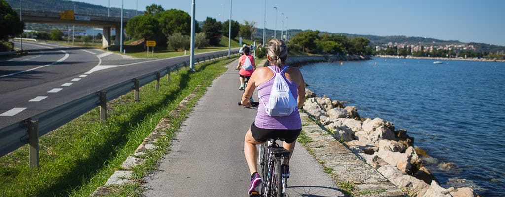 Recorrido panorámico en bicicleta por el sendero Parenzana desde Portoroz