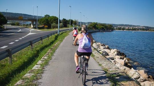 Обзорная экскурсия на велосипедах по Парензаны маршрут от Порторож