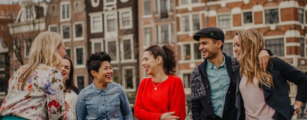 Excursão a pé privada de 4 horas em Quem é Amsterdã