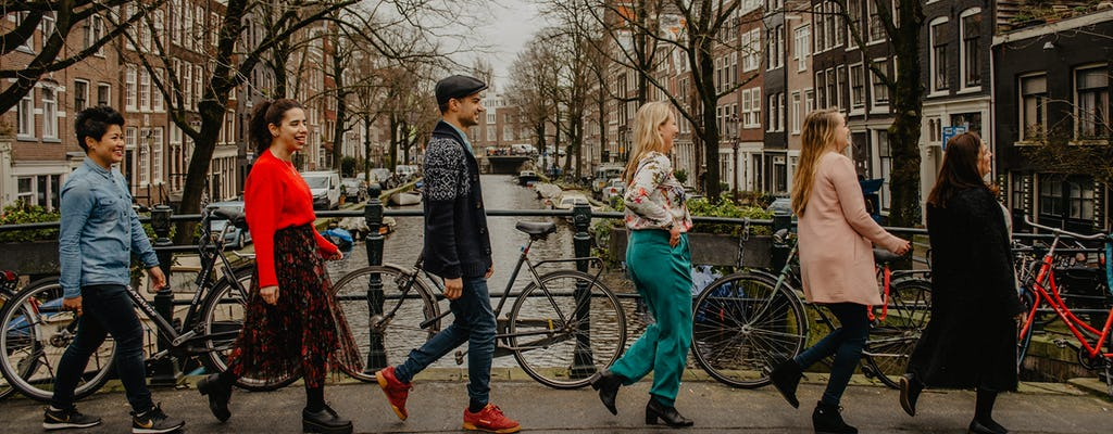 ¿Quién es Amsterdam recorrido a pie de 4 horas?